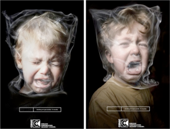 Anti Passive Smoking Campaign http://galleryhip.com/stop-smoking-campaign-posters.html